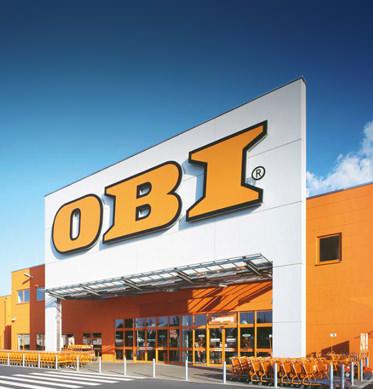 OBI Bau- u.Heimwerkermarkt CEV<br />Ebel Schwarzenb. GmbH&Co.KG