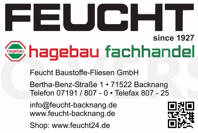 Hagebau Fachhandel Feucht Baustoffe-Fliesen GmbH<br>Ges.-Nr. 186000