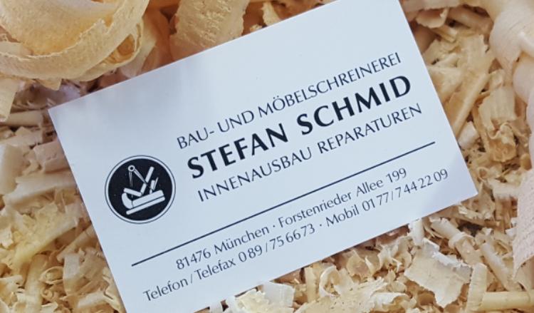 Bau- und Möbelschreinerei Schmid Stefan