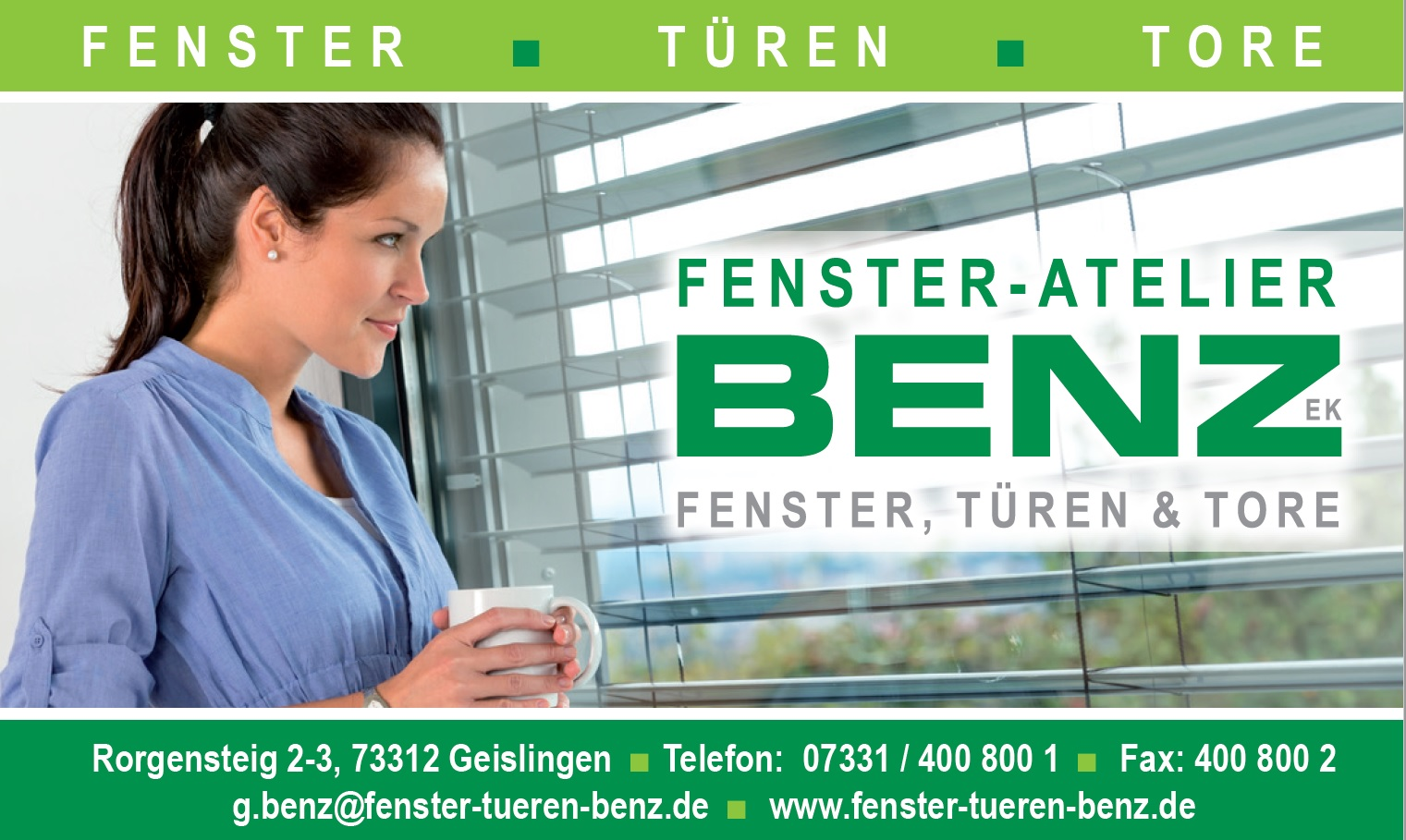 Fenster-Atelier Benz GmbH & Co. KG