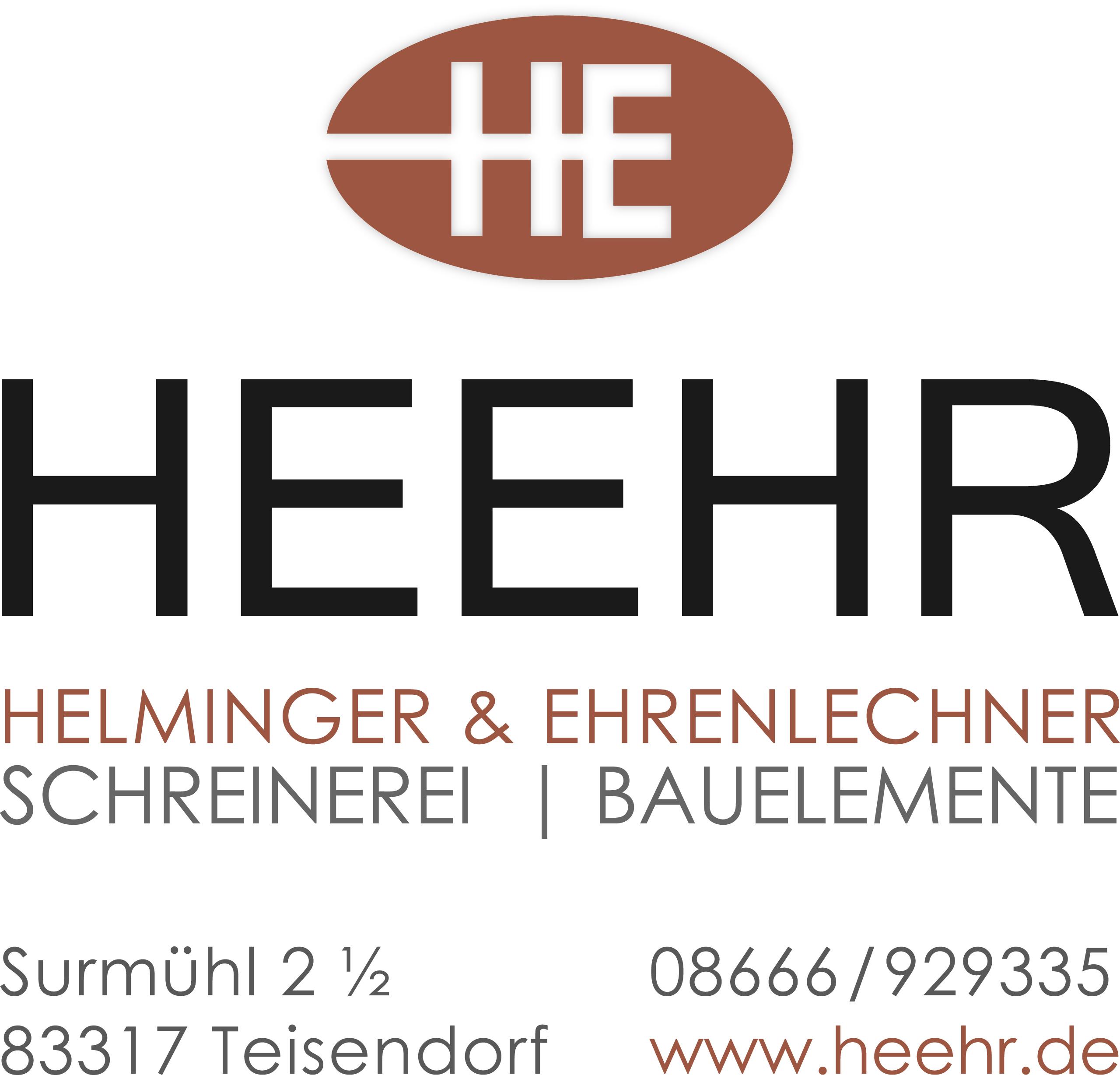 Schreinerei HEEHR GmbH & Co. KG<br>Helminger & Ehrenlechner
