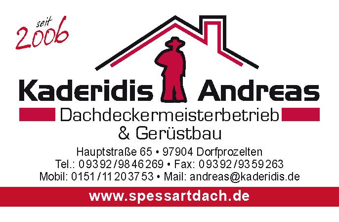 Dachdeckermeisterbetrieb Kaderidis Andreas