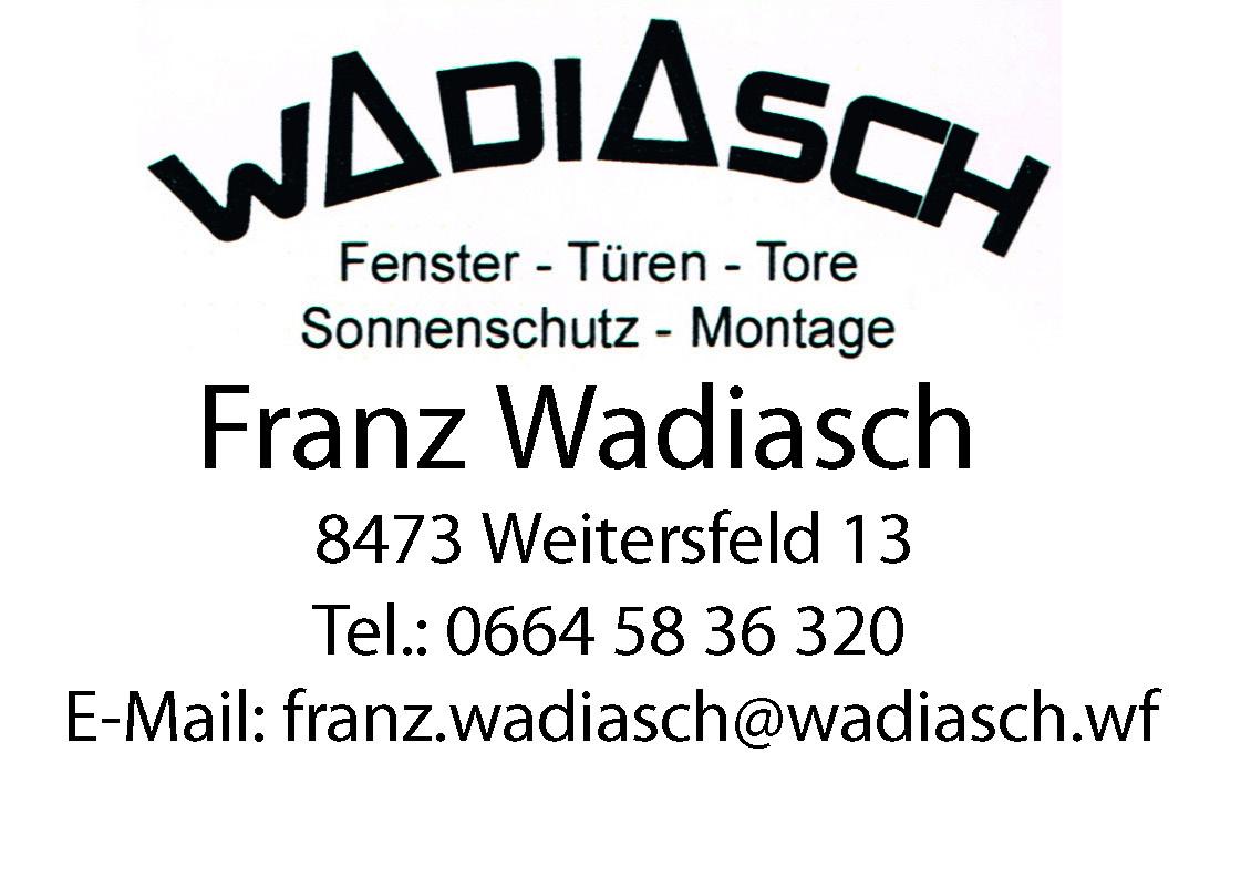 Wadiasch Franz
