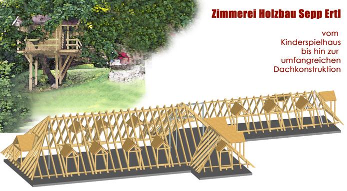 Zimmerei - Holzbau Ertl