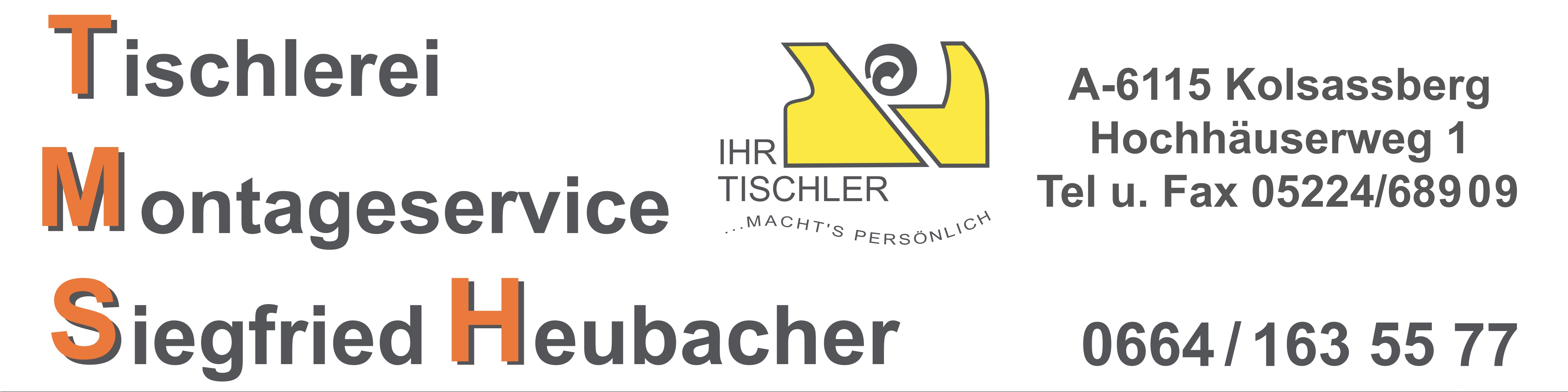Tischlerei-Montageservice Heubacher