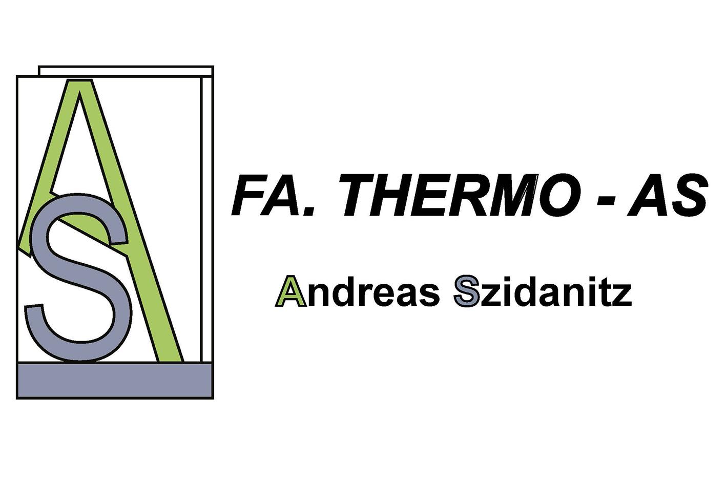 Fenster und Beschattungen Thermo AS<br>Andreas Szidanitz